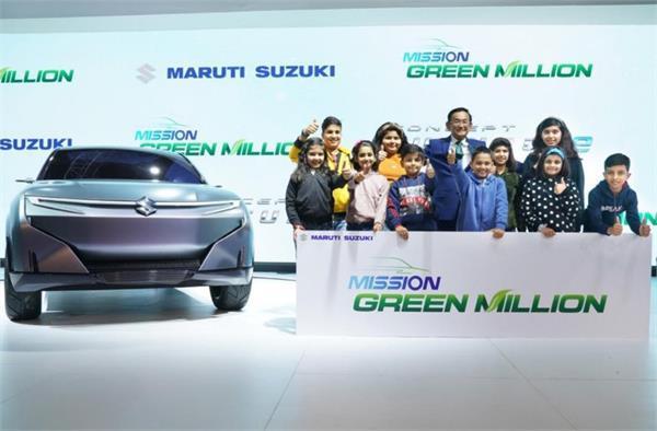 Auto Expo 2020: मारुति ने रखा अगले कुछ वर्षों में 10 लाख इको फ्रेंडली कारें बेचने का लक्ष्य