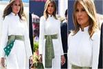 Unique Fashion: व्हाइट जंपसूट पर बनारसी स्कार्फ से दिया अपने लुक को...