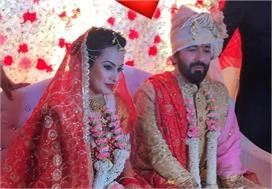 काम्या रंगी अपने पति के रंग में, धूम-धाम से हो गई शादी