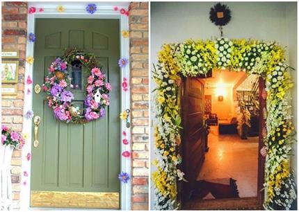 Door Decor: दीवारों को ही नहीं दरवाजों को भी दे नया लुक!