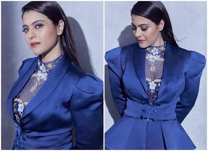 Fashion Diva: रॉयल ब्लू में काजोल का लुक कर रहा है सबको इम्प्रेस!