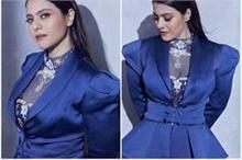 Fashion Diva: रॉयल ब्लू में काजोल का लुक कर रहा है सबको...
