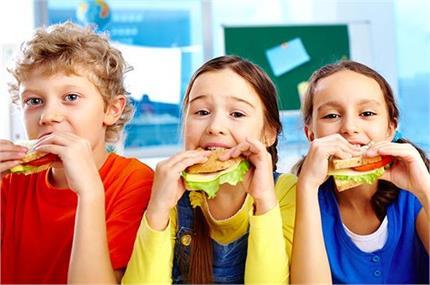 बच्चों को सिखाएं No Fire वेजिटेबल सैंडविच