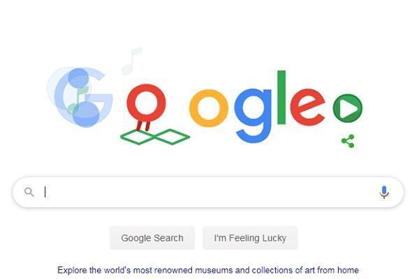 Google का नया डूडल, घर बैठे तैयार कर सकेंगे अपनी पसंद का म्यूजिक