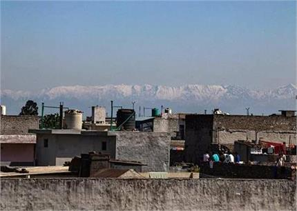 Zero Pollution: हवा हुई साफ तो आसमान में दिखा यह अद्भुत नजारा