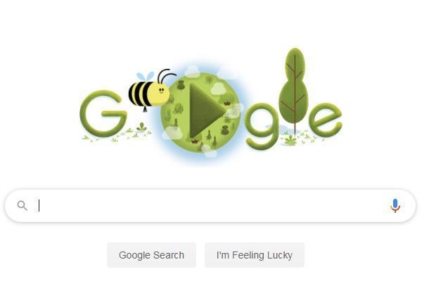 50वें पृथ्वी दिवस पर गूगल ने बनाया खास डूडल