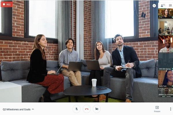 गूगल की इस सर्विस के जरिए अब 16 लोग कर सकेंगे एक दूसरे के साथ वीडियो कॉल