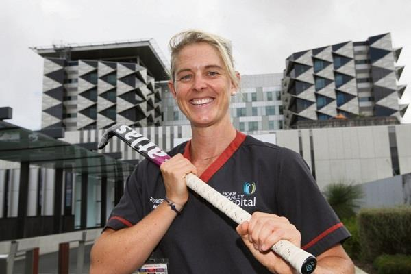 australian women hockey player