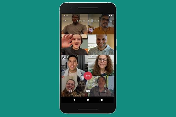 WhatsApp में हुआ बड़ा बदलाव, अब 4 की बजाए 8 लोग कर सकेंगे ग्रुप में वीडियो कॉल