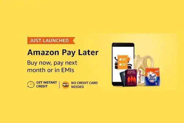 Amazon ने शुरू की Pay Later सर्विस, उधार ले सकते हैं 60 हजार तक का सामान