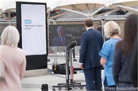 Covid-19: ब्रिटिश सरकार ने 9 दिनों में बनाया  हॉस्पिटल,...