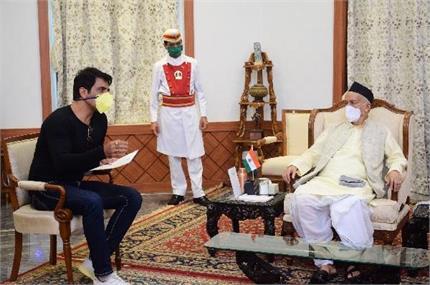महाराष्ट्र के गवर्नर से सोनू सूद ने की मुलाकात, राज्यपाल ने की खूब...