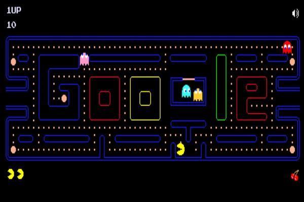 गूगल ने बनाया खास डूडल, घर बैठे खेलें लोकप्रिय PacMan गेम