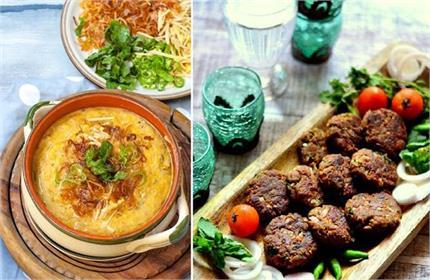 रमजान स्पैशलः घर पर बनाएं मटन शमी कबाब और हलीम