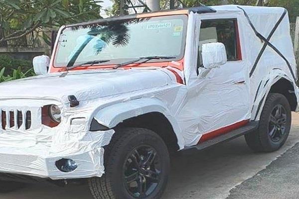 अगस्त में लॉन्च होगी नई महिंद्रा थार, डीलरशिप पर दिखा कार का प्रोडक्शन मॉडल