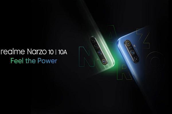 5000mAh की बड़ी बैटरी के साथ भारत में लॉन्च हुआ Realme Narzo 10 और Narzo 10A स्मार्टफोन