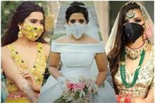 Trending: अपने वेडिंग आउटफिट का पार्ट बनाए 'Bridal Masks'