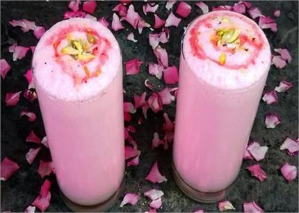 'गुलाबी लस्सी' रखेगी गर्मियों में तरोताजा