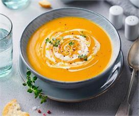 शाम की भूख शांत करने का बेस्ट तरीका Carrot Ginger Soup