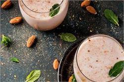 घर पर खुद तैयार करें भारत की मशहूर देसी ड्रिंक 'ठंडाई'