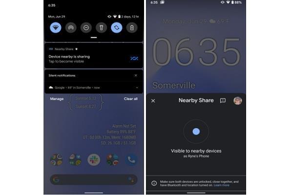 एंड्रॉयड स्मार्टफोन यूजर्स के लिए बड़ी खबर, गूगल लाने वाली है SHAREit जैसा फीचर