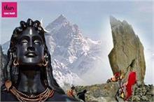 17,200 फीट ऊंचाई पर बना किन्नर कैलाश, यहां शिवलिंग का बदलता...