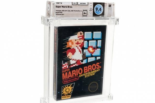 Super Mario ने बनाया वर्ल्ड रिकॉर्ड, 85.72 लाख में बिकी एक कॉपी