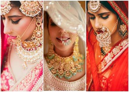 Bridal Fashion! इस बार ट्राई करें नथ के 10 लेटेस्ट स्टाइल