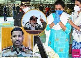 भावुक हुई शहीद कर्नल संतोष बाबू की पत्नी, कहा - 'हर हाल में...