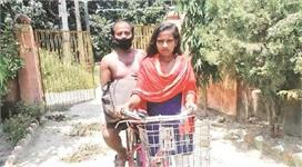 बिहार की 'साइकिल गर्ल'  पर बनेगी फिल्म, खुद ही प्ले करेंगी...