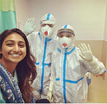मोहिना कुमारी ने जीती कोरोना से जंग, 1 महीने बाद रिपोर्ट आई नेगेटिव