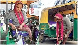 Inspirational: कैंसर पीड़ित पिता के लिए ऑटो रिक्शा चला पैसे...
