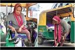Inspirational: कैंसर पीड़ित पिता के लिए ऑटो रिक्शा चला पैसे जुटा रही...
