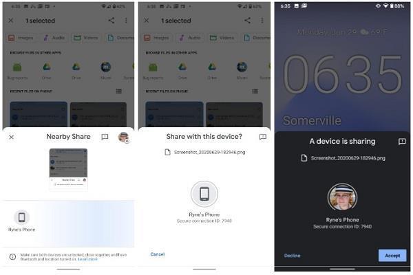 अब फाइल शेयर करने के लिए नहीं पड़ेगी किसी खास एप्प की जरूरत, गूगल ने पेश किया Nearby Share फीचर