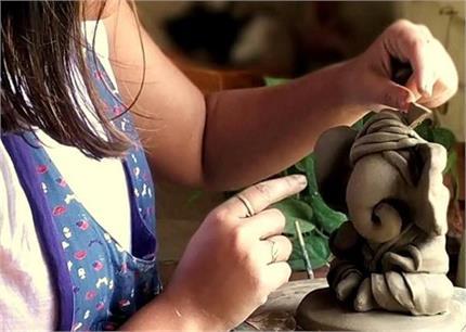 Ganesh Chaturthi: घर पर ही बनाएं ईको फ्रेंडली बप्पा की मूर्ति