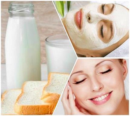चेहरे पर Instant Glow लाएगा दूध-ब्रेड से बना फेस पैक