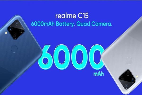 Realme 18 अगस्त को भारतीय बाजार में लॉन्च करेगी नया C15 बजट स्मार्टफोन