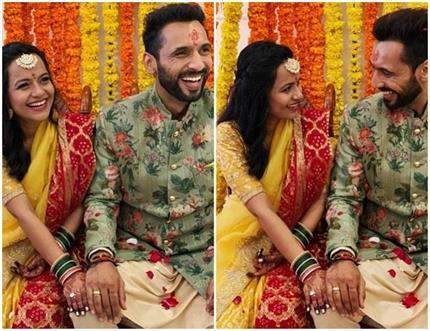पुनीत पाठक ने की गर्लफ्रेंड निधि मुनि सिंह से सगाई, शेयर की खूबसूरत...