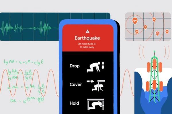 भूकंप आने से पहले अपका एंड्रॉयड फोन दे देगा अलर्ट, गूगल ला रही यह काम का फीचर