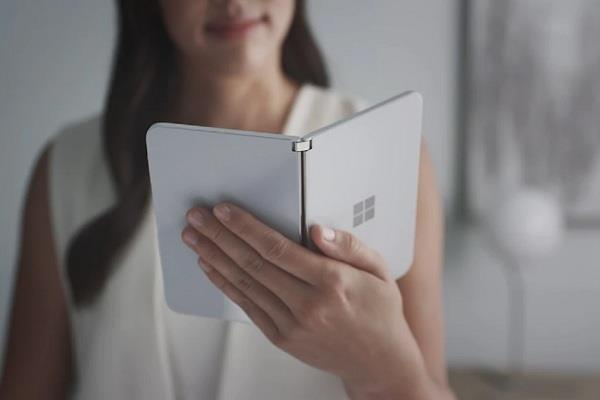 माइक्रोसॉफ्ट 10 सितंबर को लॉन्च करेगी डुअल-स्क्रीन वाला सरफेस ड्यू स्मार्टफोन