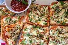 ओवन नहीं तवे पर बनाएं ब्रेड पिज्जा
