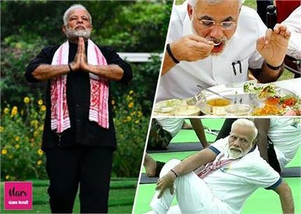 PM मोदी का टाइम टेबल, जानिए दिल और फेफड़ों को कैसे जवां रखते हैं...