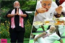 PM मोदी का टाइम टेबल, जानिए दिल और फेफड़ों को कैसे जवां...