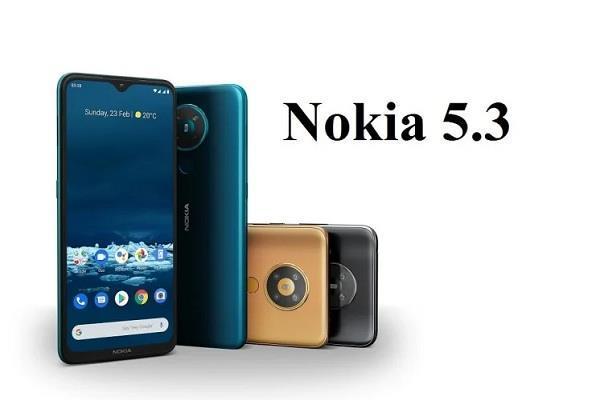 आज बिक्री के लिए उपलब्ध होगा Nokia 5.3, शुरुआती कीमत 13,999 रुपये
