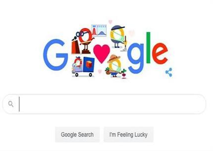 गूगल ने डूडल बनाकर खास अंदाज में कोरोना वाॅरियर्स को कहा Thank You
