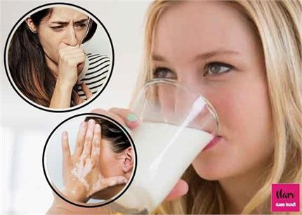 दूध के साथ करेंगे इन चीजों का सेवन तो पेट रहेगा खराब