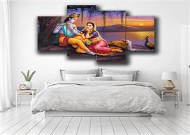 बेडरूम के इस कोने में रख लें राधा कृष्ण की तस्वीर,...