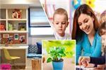 स्टडी रूम में लगाए हरे रंग के पर्दे, बच्चे में बढ़ेगी एकाग्रता!