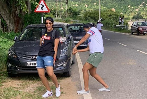 indian cricketer veda krishnamurthy