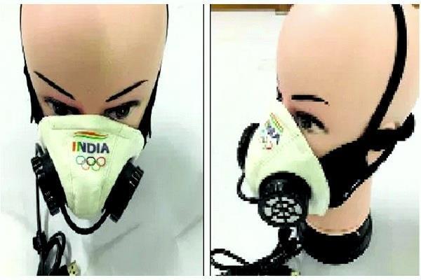 भारतीय एथलीट्स को ट्रेनिंग में मदद करने के लिए लाए जाएंगे बैटरी से चलने वाले मास्क